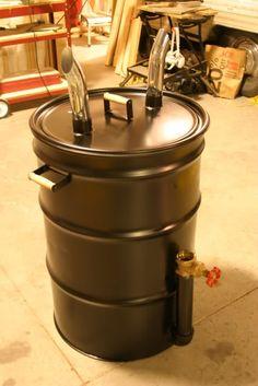 Ugly Drum Smoker - Page 43 55 Gallon Drum Smoker, Ugly Drum Smoker, Uds Smoker, Build A Smoker, Barrel Smoker, Charcoal Smoker, Homemade Smoker, Grill Time, Smoking Recipes