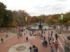 bethesda fontaine central park new york