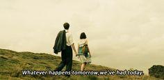 One Day. Anne Hathaway & Jim Sturgess.