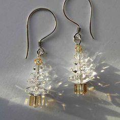 kit brincos arvore natal - Christmas Tree Earring Kit- 4,99 GBP