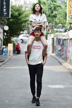 Model : Ryeon Chae Eun (Freelance based in Seoul) &  Lee Ho Yeon (Esteem model)
