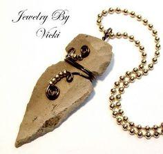 wire wrapped arrowhead