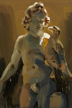 Cherubs - Jan de Vliegher , 2013 Oil on canvas, 200 x 200 cm. Figure Painting, Painting & Drawing, Art Sketches, Art Drawings, Sculpture Painting, Greek Art, Traditional Paintings, Portrait Art, Figurative Art