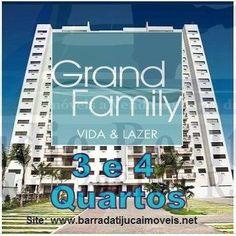 Grand Family, Apartamentos 3 e 4 quartos, Jacarepaguá, Zona Oeste, Rio de Janeiro, RJ.