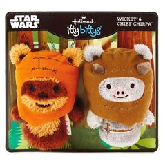 itty bittys® Ewok™ Buddies Set With Wicket™ and Chief Chirpa™ Stuffed Animals