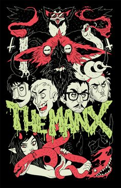 T-Shirt design for The Manx from a while back.