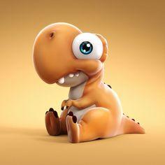 Ickle dinosaur