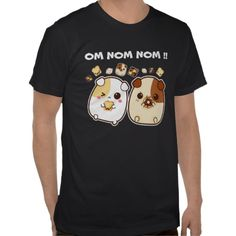 Kawaii guinea pigs t shirt. By Chibibunny