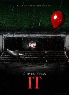 Movie Review: It (2017) Grade: A-.  I don't remember the last time I screamed out loud in a movie theater before last night. #ItMovie #StephenKing #Horror