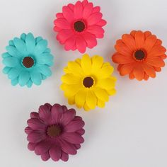 Gerbera Daisies - Assorted Hot Colors | CaljavaOnline