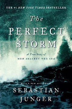 The Perfect Storm: A True Story of Men Against the Sea by Sebastian Junger, http://www.amazon.com/dp/B003F76JCI/ref=cm_sw_r_pi_dp_wb5Uqb0HNYGHW
