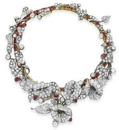 ALL ABOUT HONEYMOONS specializes in Honeymoon & Destination Wedding planning. For more info go to: www.cori.allabouthoneymoons.com. Become our FAN on Facebook: https://www.facebook.com/AAHsf    Diamond and Ruby Necklace c1880s (photo Christie's)