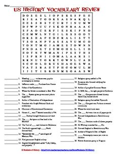 Printables Free Us History Worksheets free us history worksheets for all grade levels colonization this is a great review worksheet or american rather than simply finding the words in word search students must m
