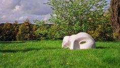 ArtParkS Sculpture Park: 'Icon Fragment (Big stone Ware Face ...