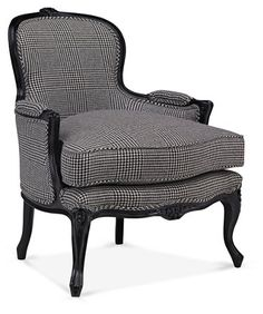 St. Germaine Accent Chair Now: $3,969.50 Was: $5,995.00 Wingback Chair, Armchair, Elephant Logo, White Gloves, Living Room Chairs, Modern Luxury, Accent Chairs, Upholstery, Furniture