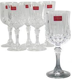 Witte wijnglazen Longchamp (6-delige set) - inhoud 17 cl - 39,99€ - home24.be