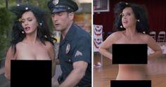 Katy Perry je v novém klipu úplně nahá! Co ji to popadlo? Naha, Katy Perry, Captain Hat, Fashion, Moda, Fashion Styles, Fashion Illustrations