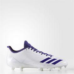 promo code 31f3e 6ad9a Adidas adizero 5-Star 6.0 Cleats (Running White Ftw   Collegiate Purple    Collegiate