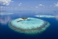 A Cook Island atoll #MaldivesHoliday
