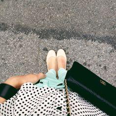 mint pants. ++ @Alice Gao