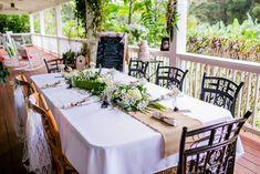 DIY 7 Guest $6000 Maui Lavender Farm Wedding Caitlin Cathey Photography. #tabledecor #diy