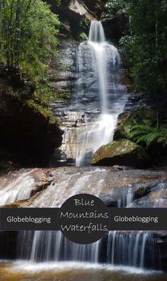 Where to find the best waterfalls in the Blue Mountains ~ Globeblogging Places To Travel, Places To Go, Swimming Holes, New Zealand Travel, Picnic Area, Blue Mountain, Australia Travel, Waterfalls, Travel Around