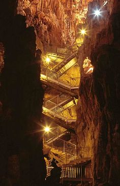 Grotta Gigante- Per dimensioni può contenere la cupola di San Pietro.Trieste- Italy*** 500 steps down and 500 back up. Nearly killed me - no elevator, of course. Amazing cave though - as the name says -Giant Cave