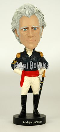 Andrew Jackson was the seventh President of the United States. #Bobblehead #RoyalBobbles