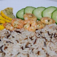 Shrimp, Seafood, Grains, Food And Drink, Easy Meals, Rice, Favorite Recipes, Recipies, Sea Food