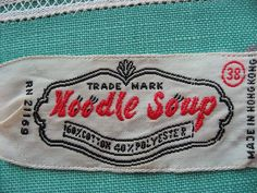 Noodle Soup by JoulesVintage, via Flickr