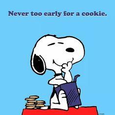 Nunca es demasiado temprano para una galleta