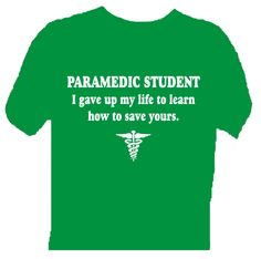 Life of a paramedic student.. this could not be more true!