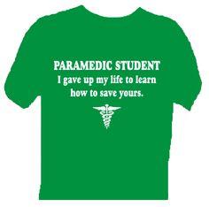 Paramedic student