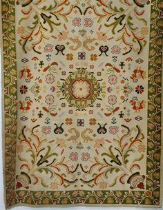 The Arraiolos tapestries, are embroidered carpets in wool on a canvas of jute, cotton or linen, characteristic of Arraiolos - Alentejo
