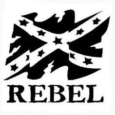 Rebel Laptop Car Truck Vinyl Decal Window Sticker PV404