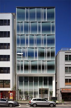 TSR Building, Tokyo, 2011 by Jun'ichi Ito  #architecture #japan #facade #glass
