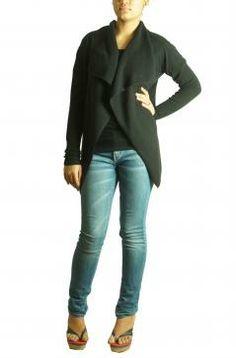 Glamorous black jacket by Todi