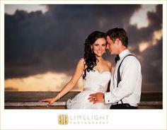 OCEAN KEY RESORT, Limelight Photography, Wedding Photography, Key West Wedding, Sunset, Beach, Bride and Groom, www.stepintothelimelight.com