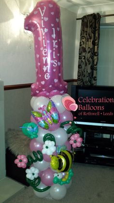 Beautiful Children's Party balloons for Leeds, Wakefield and surrounding areas from www.rothwellballoons.co.uk