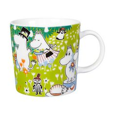 """""""Tove's Jubilee Moomin mug. This Item has now been discontinued and has become a sought after collectible."""" (quote) Finnish design via ihanaiset.fi"""