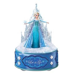 Disney FROZEN Figurine Light Up Music Box Collection