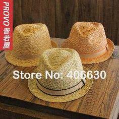 [ 22% OFF ] Summer Raffia Straw Fedora Hats For Men Jazz Hat Trilby Cap Chapeu Masculino Panama Hat  Pgfe-009