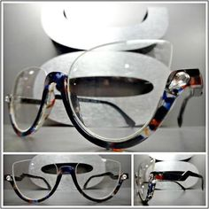 Oversize Exaggerated Exotic Funky Retro Style SUN GLASSES XL Tortoise Gold Frame