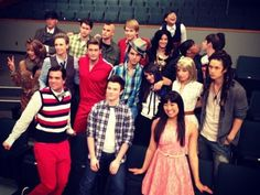 Glee loved when they traded places! my favorite was puck and blaine! American Horror Stories, Glee Memes, Glee Quotes, Brenda Song, Darren Criss, Rocky Horror, Glee Season 3, Finn Glee, Jon Snow