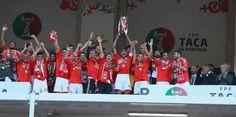Benfica Vencedor Taça de Portugal - Triplete