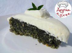 Турецкий маковый торт без муки. Восточная сладость