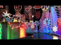 Disneyland's Its a small world the ride at Christmas!