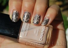 Fishnets and Lace Nails: Chanel Django