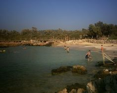 Kleopatra beach. sedir island.Turkey