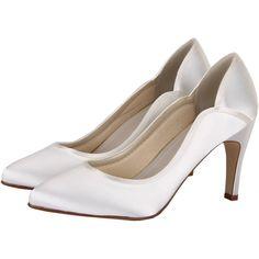 Zapatos de Novia Salón modelo Lucy de Rainbow Club ➡️ #LosZapatosdetuBoda #Boda
